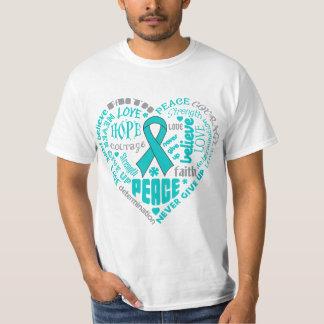 Palavras do coração da consciência de PKD T-shirt