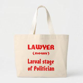 Palco Larval do advogado (substantivo) do político Bolsas