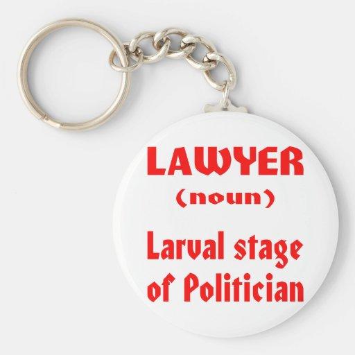 Palco Larval do advogado (substantivo) do político Chaveiro