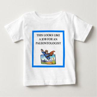 paleontologia camiseta para bebê