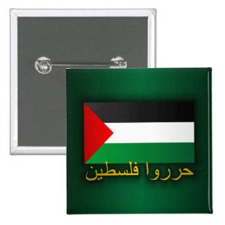 Palestina livre árabe pins