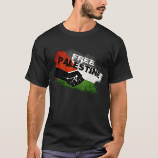 Palestina livre camiseta