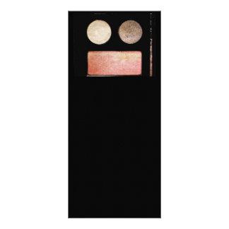 Paleta-Cara do maquilhador Planfeto Informativo Colorido