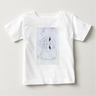 palhaço assassino camiseta para bebê