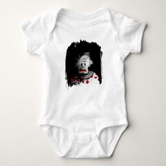 Palhaço assustador body para bebê