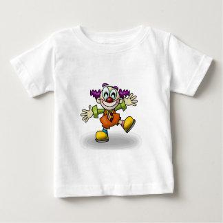 Palhaço Camiseta Para Bebê