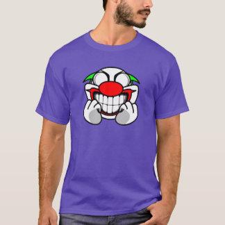Palhaço de sorriso (roxo) camiseta