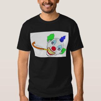 Palhaço do feliz aniversario tshirts
