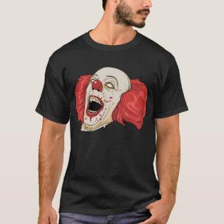 Palhaço escuro camiseta