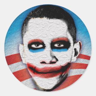 Palhaço Obama Adesivos