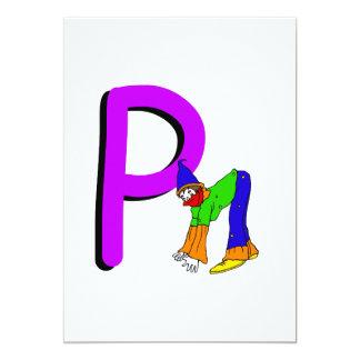 Palhaço P.png Convite 12.7 X 17.78cm