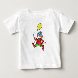Palhaço pequeno com balão t-shirt