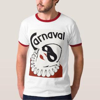Palhaço retro do carnaval de Carnaval Tshirts