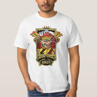 Palhaço selvagem camisetas