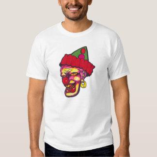 palhaços assustadores tshirts
