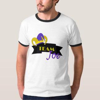 Palhaços - camisa de Joe da equipe