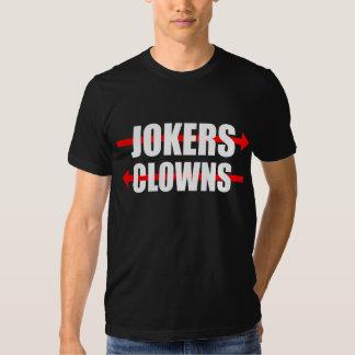 Palhaços e palhaço t-shirts