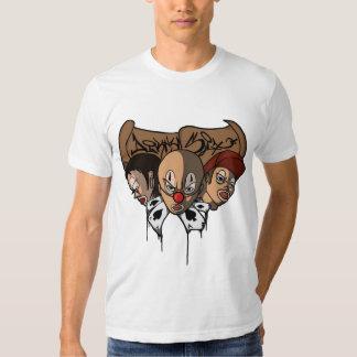 palhaços sujos t-shirt