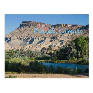Palisade, Colorado Cartão Postal