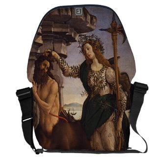 Pallas e o centauro por Botticelli Bolsas Mensageiro