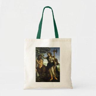 Pallas e o centauro por Sandro Botticelli Sacola Tote Budget