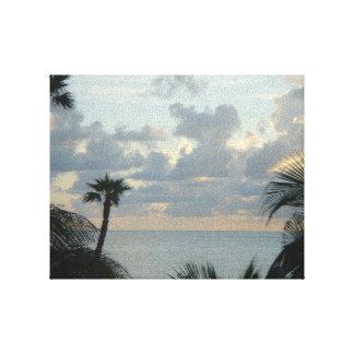 Palm Beach - Florida - nascer do sol no paraíso Impressão De Canvas Esticadas