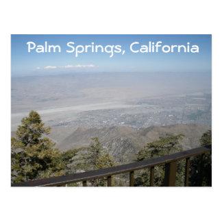 Palm Springs, cartão de Califórnia Cartão Postal