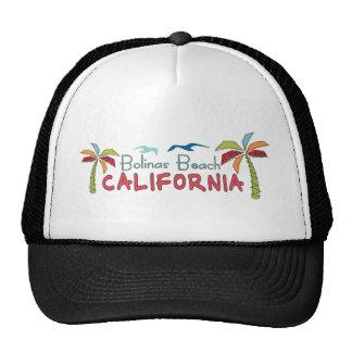 Palmas artísticas de Califórnia da praia de Bolina Boné