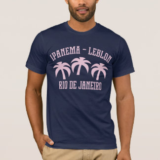 Palmas Rio de Ipanema Leblon Camiseta
