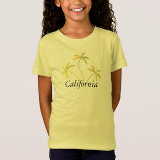 Palmeira amarela da faísca camiseta