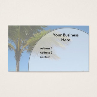 Palmeira Cartão De Visitas