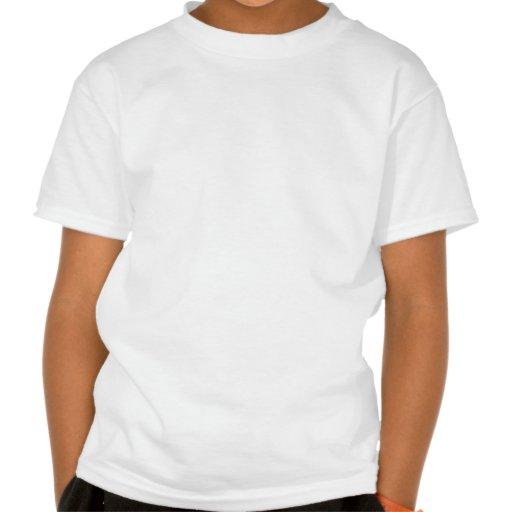 Palmeira com cocos camisetas