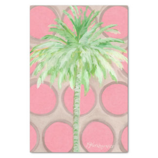 Palmeira cor-de-rosa bonito das bolinhas do papel