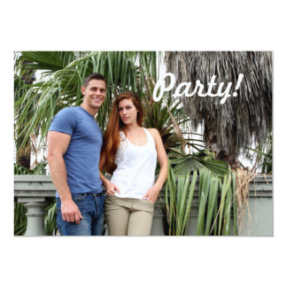 Palmeira do casal dos jovens convites personalizados