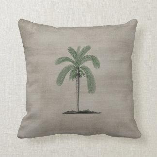 Palmeira do vintage travesseiros de decoração