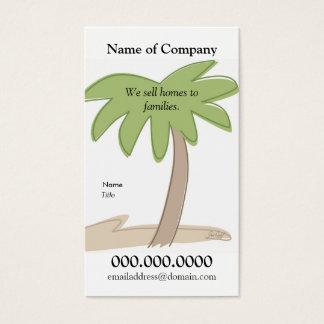 Palmeira - modelo do cartão