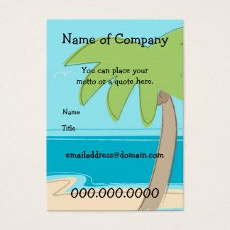 Palmeira - modelo do cartão - personalizada