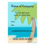 Palmeira - modelo do cartão - personalizada cartão de visita grande