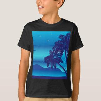 Palmeira na noite tshirt