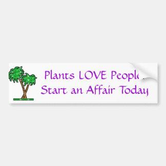 palmeira, pessoas do AMOR das plantas! Comece um c Adesivo Para Carro