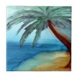 Palmeira sonhadora azulejos de cerâmica