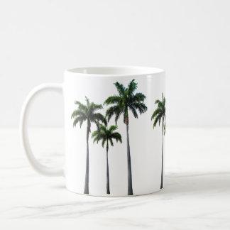 - Palmeiras - caneca branca clássica tropical