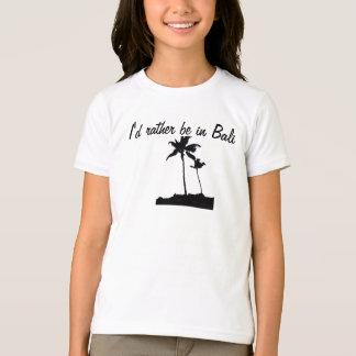 Palmeiras de Bali Camisetas