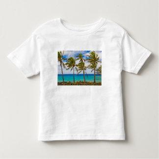 Palmeiras do coco (nucifera dos Cocos) que Tshirt