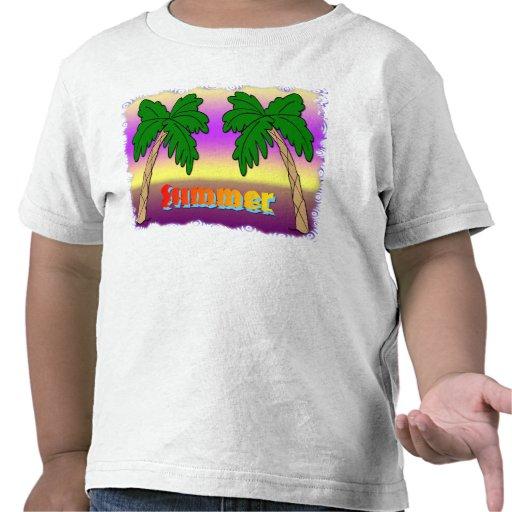 Palmeiras do verão tshirt