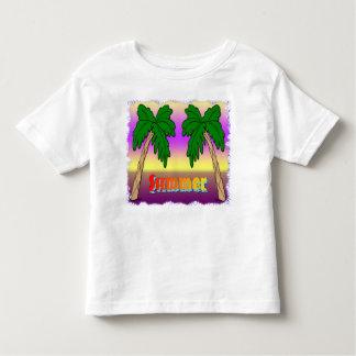 Palmeiras do verão t-shirt