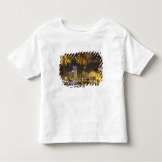 Palmeiras e CBD na noite, Sydney, sul novo Camisetas