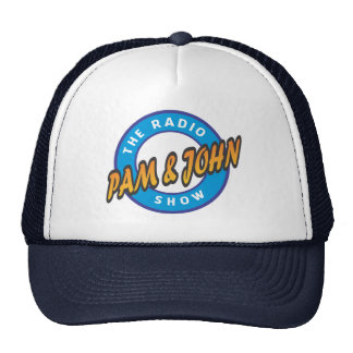 Pam do oficial & chapéu do camionista do show boné