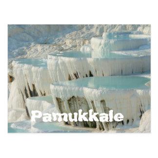 Pamukkale, cartão de Turquia