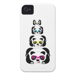 Panda bonito da caixa de Blackberry Capinha iPhone 4